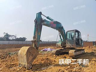 四川-眉山市二手神钢SK130-8挖掘机实拍照片