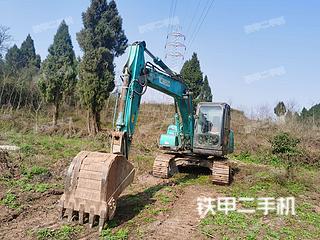 重庆-重庆市二手神钢SK130-8挖掘机实拍照片