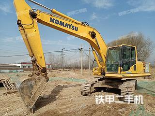 滨州小松PC210-8M0挖掘机实拍图片
