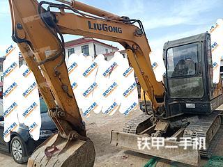 山东-滨州市二手柳工CLG906D挖掘机实拍照片