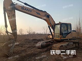 滨州三一重工SY215C挖掘机实拍图片
