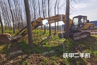 萊蕪玉柴YC210LC-8挖掘機實拍圖片