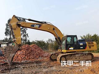 柳州卡特彼勒336D2液压挖掘机实拍图片