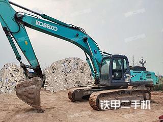 乐山神钢SK350LC-8挖掘机实拍图片