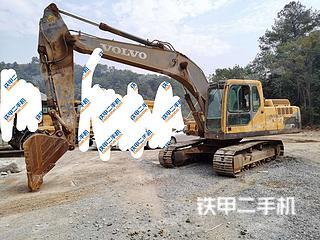梧州沃尔沃EC210B挖掘机实拍图片