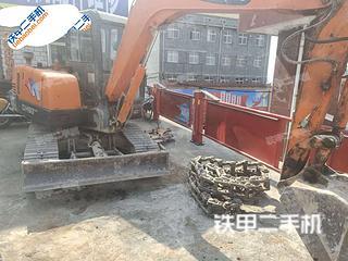 山西-晋城市二手斗山DH55-V挖掘机实拍照片