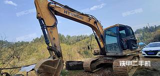 現代R150LVS挖掘機實拍圖片