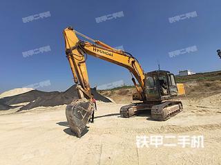 云南-保山市二手现代R215-7C挖掘机实拍照片