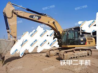 梧州卡特彼勒336D2液压挖掘机实拍图片