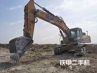 山东-泰安市二手徐工XE470D挖掘机实拍照片
