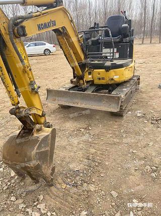 北京小松PC20MR-3挖掘機實拍圖片