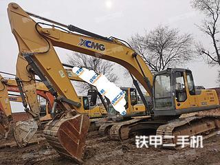 山西-晋中市二手徐工XE265C挖掘机实拍照片
