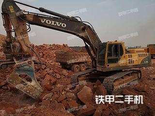 沃尔沃EC360BLC挖掘机实拍图片