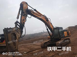 河南-南阳市二手现代R455LC-7挖掘机实拍照片
