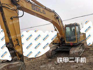 河北-保定市场二手山东临工E6210F挖掘机实拍照片