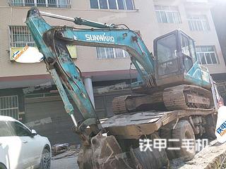 山河智能SWE150F挖掘機實拍圖片