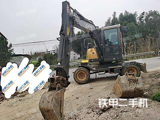 長沙聚友重工JY85-9T挖掘機實拍圖片