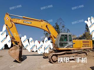 梧州加藤HD1638R挖掘机实拍图片