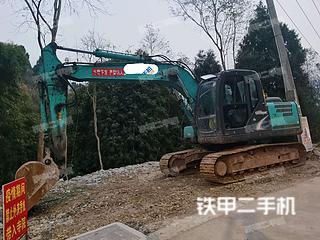 重庆-重庆市二手神钢SK140LC-8挖掘机实拍照片