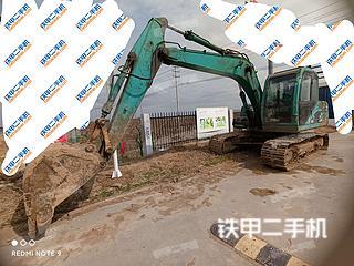 山河智能SWE150LC挖掘機實拍圖片