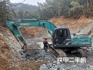 浙江-台州市二手神钢SK200-8挖掘机实拍照片