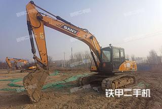 北京-北京市二手三一重工SY215C挖掘机实拍照片