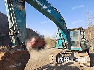 山河智能SWE215E挖掘機實拍圖片