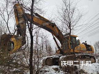 大理現代R450LC-5挖掘機實拍圖片