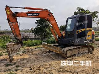 广东-湛江市二手斗山DH60-7挖掘机实拍照片