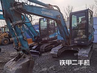 山河智能SWE50E挖掘機實拍圖片
