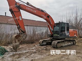滨州日立ZX200-3挖掘机实拍图片