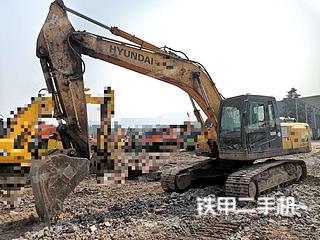 宜賓現代R225LC-7挖掘機實拍圖片