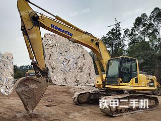 乐山小松PC240LC-8挖掘机实拍图片