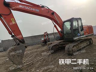 日立ZX200-3挖掘机实拍图片