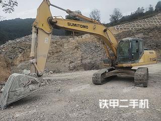 浙江-温州市二手住友SH240-5挖掘机实拍照片