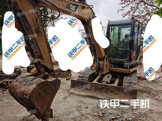 中山卡特彼勒306D液压挖掘机实拍图片