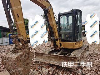 中山卡特彼勒304CR挖掘机实拍图片