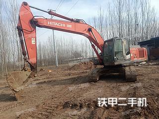 滨州日立ZX240-3挖掘机实拍图片