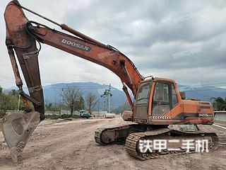 乐山斗山DH225LC-9挖掘机实拍图片