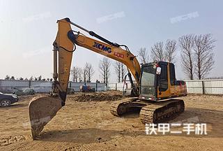 北京徐工XE150D挖掘机实拍图片