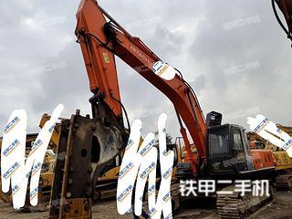 柳州日立ZX360H-3G挖掘机实拍图片