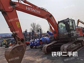 北京日立ZX170LC-5A挖掘机实拍图片
