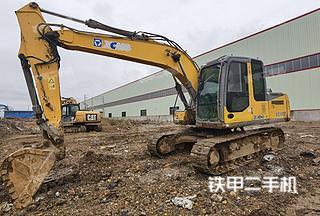 徐工XE135B挖掘機實拍圖片