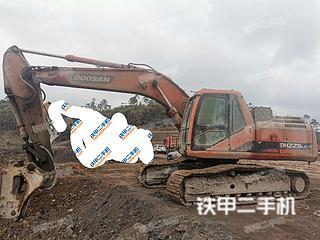 四川-内江市二手斗山DH225LC-7挖掘机实拍照片
