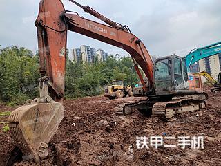 四川-雅安市二手日立ZX240-3挖掘机实拍照片