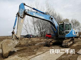 山重建机GC208-8挖掘机实拍图片