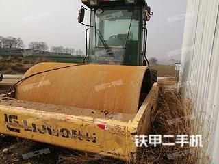 河南-焦作市二手柳工CLG622压路机实拍照片