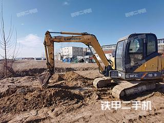 山东-济南市二手柳工CLG906D挖掘机实拍照片