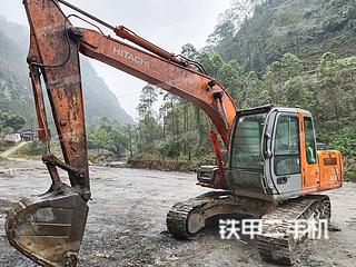 乐山日立ZX130H挖掘机实拍图片