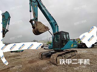广西-南宁市二手山河智能SWE215E挖掘机实拍照片
